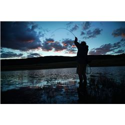 3 Night/2 Day Fishing & Outdoor Exploration package on the Vermejo Park Ranch for 4 people in two ro