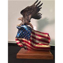 """""""Brave Glory"""" a bronze sculpture by Lorenzo Ghiglieri"""