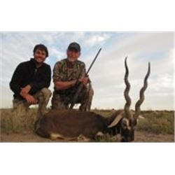 5 Day Hunt for 3 hunters with Catena Safaris Argentina for 1 Blackbuck & 1 Ram (to be shared)