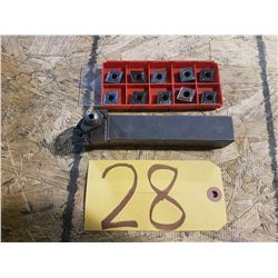 Holder 1'' x 1'' CNMG 542 with inserts (10)