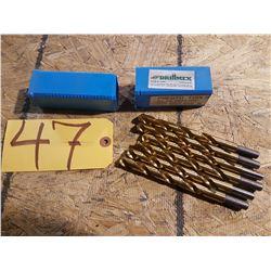 Drill 15/32'' shank 3/8''