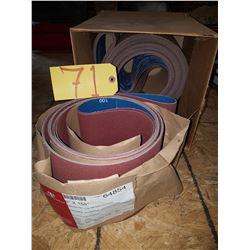 Lot of Abrasives Belts 6''x158'' Gr100 (x12)