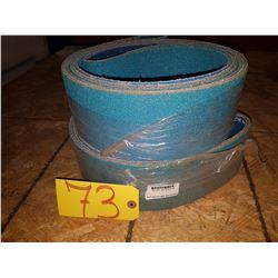 Lot of Abrasives Belts 4''x137''3/4 Gr24