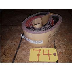 Lot of Abrasives Belts 4''x40'' Gr50