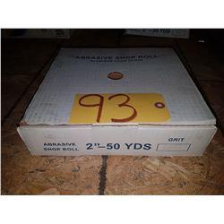 Abrasive Shop Roll 2'' x 50yds Gr240