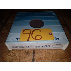 Abrasive Shop Roll 2'' x 50yds Gr60
