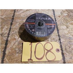 New Reflex Cutting Disc 4''1/2 x 1/25'' x 7/8''