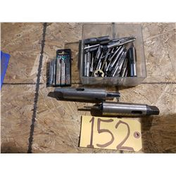 Lot of Tap & Sleeve with collet