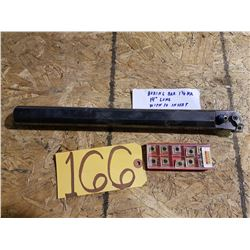 Boring Bar 1''1/4 x 14'' with inserts (10)
