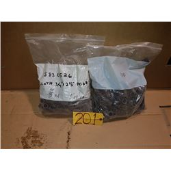 "Bag of Abrasive Roll 3/4"" x 2""1/2 Grit 100 (2)"