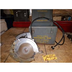 Porter Cable Speedmatic Saw