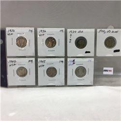 USA Ten Cent - Sheet of 7