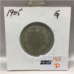 Canada Twenty Five Cent (CHOICE of 7)