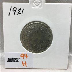 Canada Twenty Five Cent (CHOICE of 9)