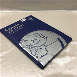 Canada Twenty Five Cent - Unisafe Folder