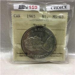 Canada Silver Dollar (CHOICE of 6)