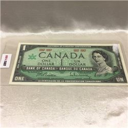 Canada $1 Bill