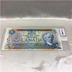 Canada $5 Bill 1979
