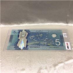 Canada $5 Bill 2013
