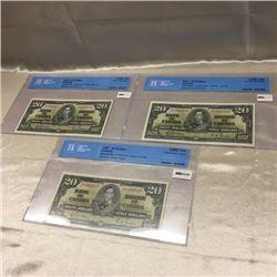 Canada $20 Bills - 1937