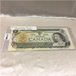 Canada $1 Bill 1973