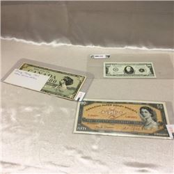 Novelty Bills (3)