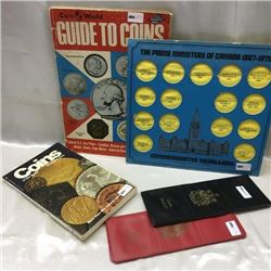 Coin Collecting Books/Holders