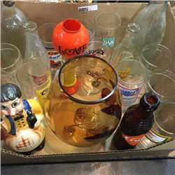 LOT3: Box Lot: Glassware/Collectibles