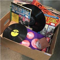 LOT18: Box Lot: Music Related Ephemera