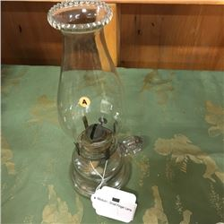 LOT23A: Coal Oil Finger Lamps (CHOICE of 5)