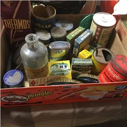 LOT42: Tray Lot: Collectibles/Antiques