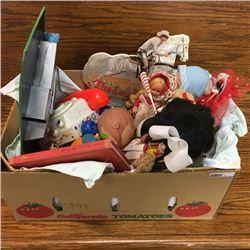 LOT43: Box Lot: Vintage Toys
