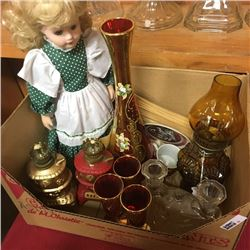 LOT68: Box Lot - Red & Gold Theme