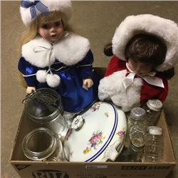 LOT71: Box Lot: Variety Glassware/Collectibles