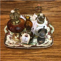 LOT83B: Mini Lamps - Groupings (CHOICE of 3)