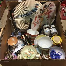 LOT86: Box Lot - Oriental Theme