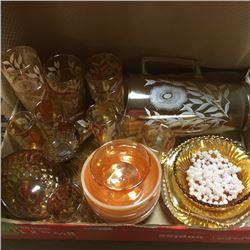 LOT94: Tray Lot: Depression Glass