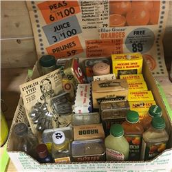 LOT122: Tray Lot : Vintage Kitchen