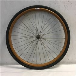 LOT138: Wooden Bicycle Tire