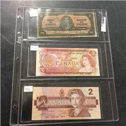LOT241: Canada $2 Bills