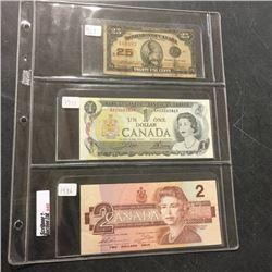 LOT242: Canada Bills