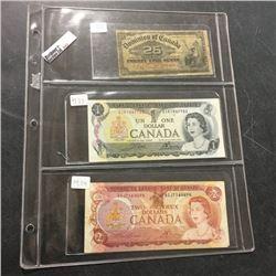 LOT243: Canada Bills