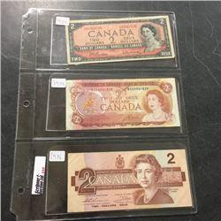 LOT244: Canada $2 Bills