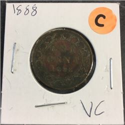 LOT249C: Canada Large One Cent (CHOICE of 6)