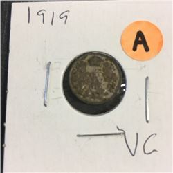 LOT250A: Canada Five Cent (CHOICE of 4)