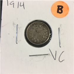 LOT250B: Canada Five Cent (CHOICE of 4)