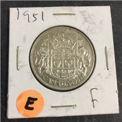LOT252E: Canada Fifty Cent (CHOICE of 12)