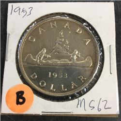 LOT253B: Canada Silver Dollar (CHOICE of 10)