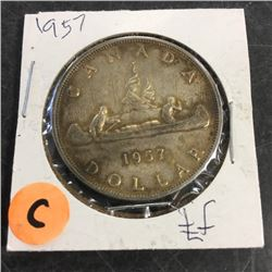 LOT253C: Canada Silver Dollar (CHOICE of 10)