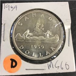 LOT253D: Canada Silver Dollar (CHOICE of 10)